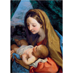 Christmas Cards - Virgin and Child (Maratta)