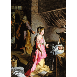 Christmas Cards - The Nativity (Barocci)