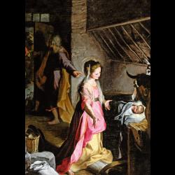 Christmas Cards - The Nativity (Barocci)