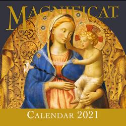 Magnificat 2021 wall art calendar