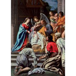 Christmas Cards - The Adoration of the Shepherds (Maître des Cortèges)