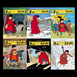 Loupio Pack 6 volumes