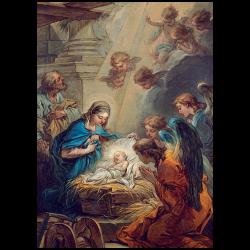 Christmas Cards - The Nativity (Van Loo)