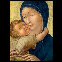 Christmas Cards - Virgin of Tenderness (Liberale da Verona)
