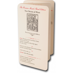 The Magnificat Pew Cards - Medium Size