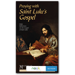 Praying with Saint Luke's Gospel - Nook